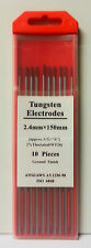 Individual Tig Welding Tungsten Electrode - Gold, Blue, White, Red & Grey