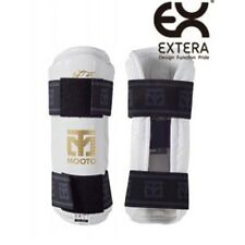 Arm Protector MOOTO Korean TAEKWONDO TKD Forearm gear WTF Gym MMA PU White 1pair