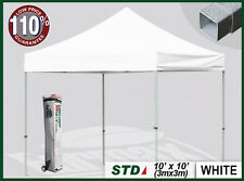 POP UP GAZEBOS, COMMERCIAL QUALITY, HEAVY DUTY TRADE STALL COME WITH ROLLER BAG