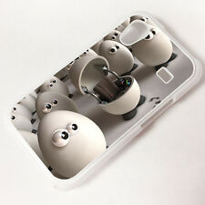 Cover for Samsung Galaxy Ace s5830  Egg Funny Quirky Cute Cool Case  2077