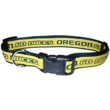 Oregon Ducks Nylon Dog Collar, NCAA Official, Pets First (S,M,L) New with Tags