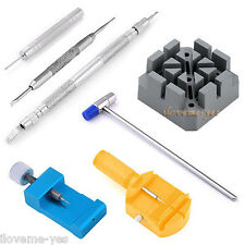 Watch Band Strap Bracelet Link Pins Spring Bar Remover Adjuster Kit Repair Tools
