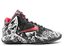 Nike GS LeBron 11 XI Graffiti Freegum 621712-100 Size:4Y-7Y Kids Boys HEAT James