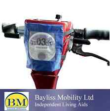 MOBILITY SCOOTER TAX DISC HOLDER WITH VELCRO FIXINGS MOBILITY SCOOTER ACCESSORY