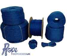 Blue Poly Rope Coils, Polyrope, Polypropylene, Agriculture, Camping, Tarpaulins