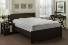 Down Alternative Mattress Pad Luxurious Cotton Top Quilted Twin Full Queen King