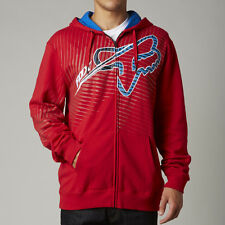 Fox Racing Collateral Zip Up Hoody Red