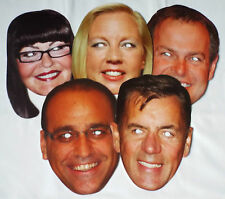 Dragon's Den Celebrity Face Masks - Great for Parties - 1st Class Post
