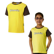 BROWNIE SHORT SLEEVED T-SHIRT ALL SIZE OFFICIAL UNIFORM GIRLS KIDS FREE DELIVERY
