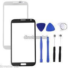 Front Outer Screen Glass Lens Replacement for Samsung Galaxy Note 2 N7100 + Kit
