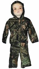 Baby Boy's Two-Piece Camo Fleece Set Hunting Outfit Jacket Pants Camouflage Set