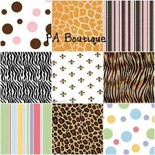 "*10 STYLES!* Printed Tissue Paper for Gift Wrapping 20""x30"" Sheets Fleur Animals"