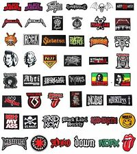 PUNK ROCK BAND MUSIC LOGO EMBROIDERED IRON ON PATCH FOR T SHIRT JACKET HAT