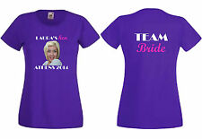 PERSONALISE HEN PARTY CUSTOM CREATE YOUR OWN TSHIRT PHOTO LADIES STAG HOLIDAY