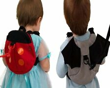Backpack Safety Harnesses Strap Anti-lost band Ladybug Batman for Baby Toddler