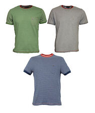 Mens Duck and Cover Blake Short Sleeve Striped T-Shirt Tee
