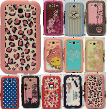 Cute 3-part Snap on Hard Back Case Cove fr Samsung Galaxy Grand Duos i9082 i9080