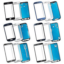 Lens Screen Outer glass for Samsung Galaxy S2 S3 S4 Note 2 Note 3 with Adhesive