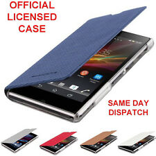 Genuine LICENSED FLIP CASE for Sony XPERIA Z1 Mobile book cover cell phone pouch