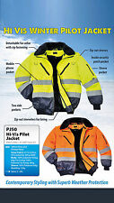 MEN HIVIS WINTER SAFETY/ PROTECTIVE CLOTHING JACKET ALL WEATHER  PORTWEST FAB381