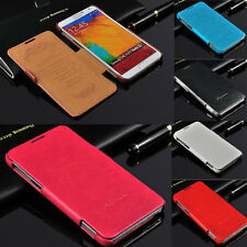 Luxury Slim Flip Leather Case Cover for Samsung Galaxy Note 3 III N9000 N9005