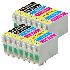 14 Ink Cartridges non-OEM to replace T0807 & T0801 Compatible (2x Set + Black)