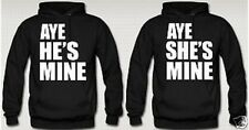 Aye He's/Shes mine Hoodie, The weekend/Jersey Shore! Black!
