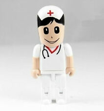 New Cartoon Nurse Model 4GB-32GB USB2.0 Enough Flash Memory Stick Pen Drive PL21
