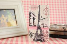 Triumphal arch Paris Eiffel Tower  Whole Cover Case FOR Different MOBILE PHONE