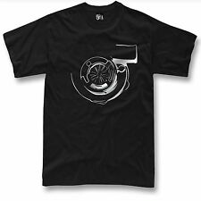 Turbo T Shirt Boost JDM Tuning Drift  NEW Silver Graphic ( S - 5XL )
