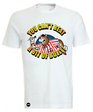 Iconic Retro Gameshow Bullseye ' BULLY'  Cartoon Crew Neck Tee T-shirt  ICONIC
