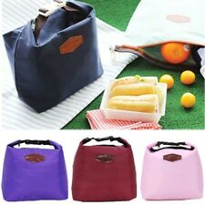 Thermal Cooler Insulated Travel Picnic BBQ Lunch Food Tote Carry Bag Waterproof