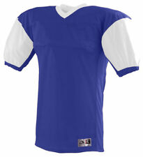 Augusta Sportswear Men's Two Needle V Neck Bottom Red Zone Jersey T-Shirt. 9540