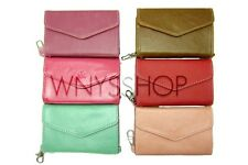 Women Wallet Envelope Case Bag Holder Handbag Samsung iPhone 4 4S Phone Wristlet