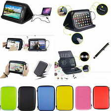 "Colorful Speaker Sounder PU Case Bag+Stylus For 7"" HP Slate 7 1800 Tablet PC"