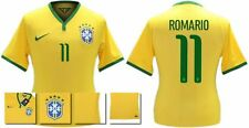 *14 / 15 - NIKE ; BRAZIL PLAYER ISSUE HOME SHIRT SS / ROMARIO 11 = SIZE*