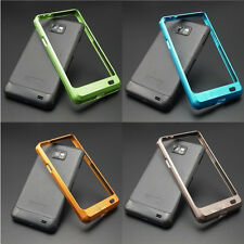 metal aluminum bumper case cover for samsung galaxy S2 SII I9100 hard new alloy