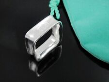 Cool 925Sterling Silver Hot Selling Square Men Women Ring #7 #8 #9 FHR+BOX