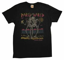 Party Naked Cancun Mexico Skeletons Vintage Style Junk Food Adult T-Shirt Tee