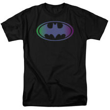 DC Comics Batman Gradient Bat Logo Adult Superhero T-Shirt Tee