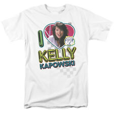 Saved By The Bell I Love Kelly Kapowski 80s NBC TV Show T-Shirt Tee