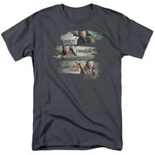 The Hobbit:Unexpected Journey Thorin Kili Fili Loyalty And Honour Adult T-Shirt