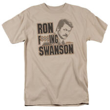 Parks & Recreation Ron Swanson NBC TV Show T-Shirt Tee