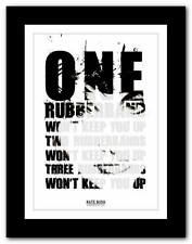 KATE BUSH - Rubberband Girl ❤ song lyrics typography poster art print - A1 A2 A3