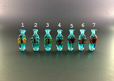 Butterfly Style Full Glass Drip Tip for 510 / 910 RBA , RDA Atomizer HANDMADE