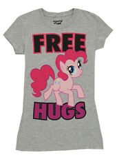 My Little Pony Pinkie Pie Free Hugs Cartoon Mighty Fine Jrs Babydoll T-Shirt