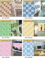 Temperature Resistance Interior Decorate Style Ceramic Tile Stuck Wall Stickers