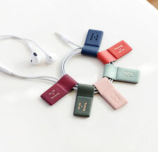 Magnet Earphone Cable Winder for iPod / MP3 - Cable Clip Holder - Pick 1 from 6