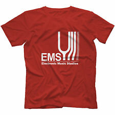 Electronic Music Studios T-Shirt 100% Cotton Synthi Aks Ems Retro Synth VCS3