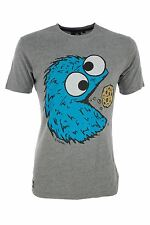 Segment' snack man' men's Cookie Monster PAC MAN T-shirt Jeux Vidéo Rétro